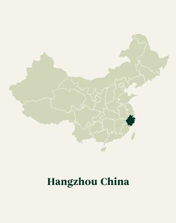 Tea Region of Hangzhou, China