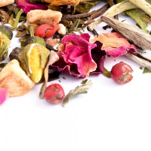 white rose raspberry tea