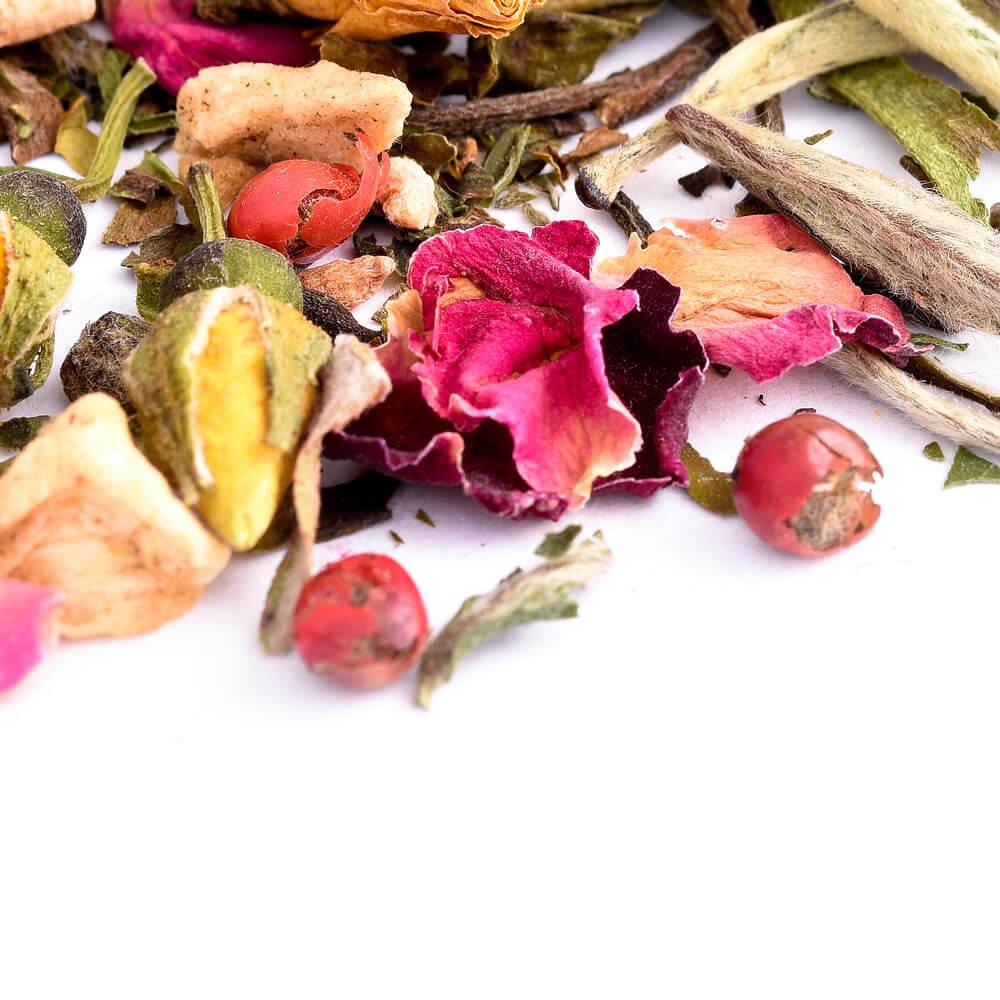 white rose raspberry tea