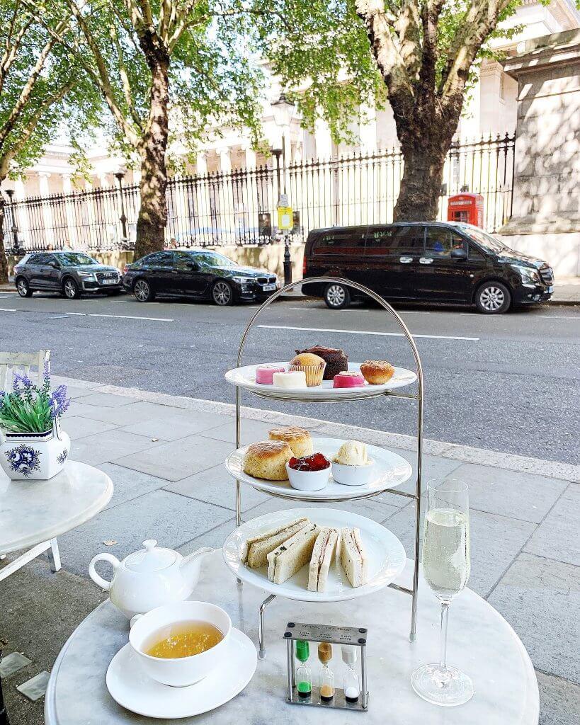 Afternoon Tea British Museum London