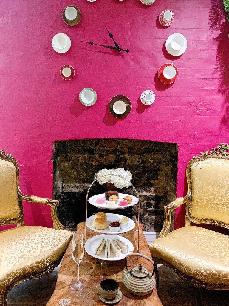 Afternoon Tea Camellia Tea House