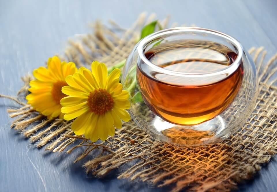 marigold tea health benefits