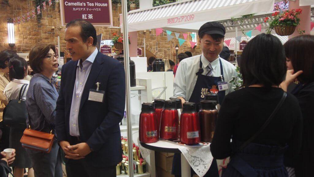 Camellia's Tea House in Hankyu Osaka British Fair 2019