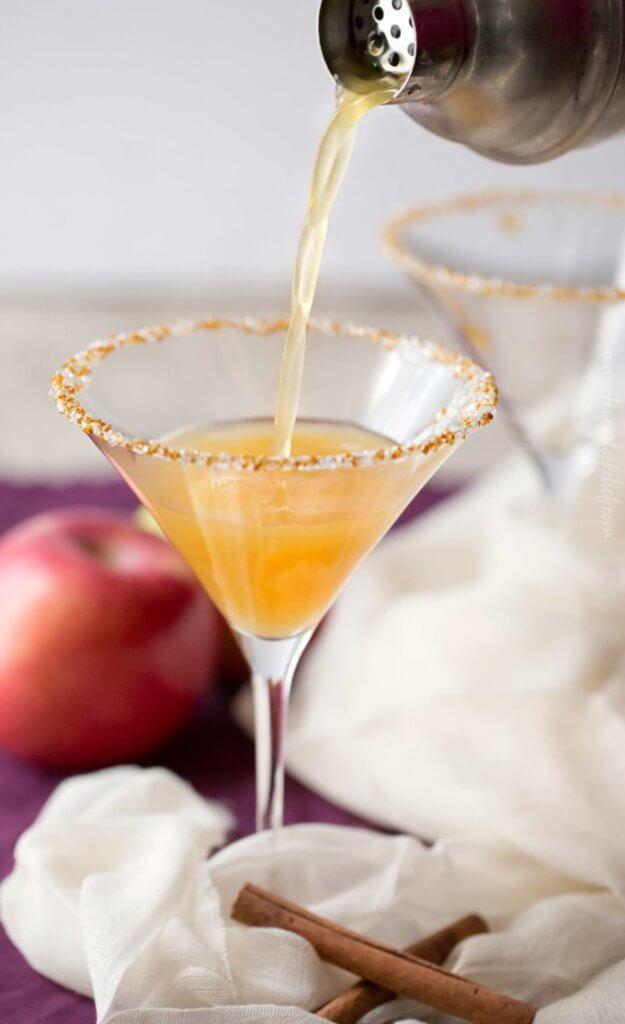 Apple Chai Martini