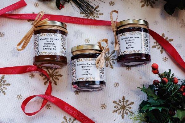 Tea-infused marmalade and jams