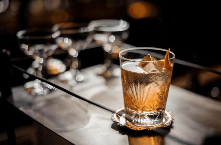 Old Fashioned Cocktail Recipe with an Earl Grey Orange Tea Twist